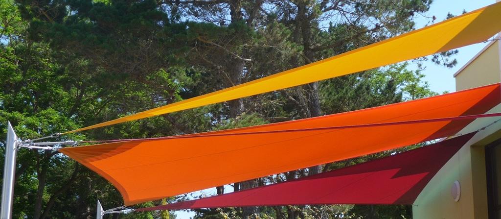 Choisissez les bonnes couleurs pour vos voiles d'ombrage