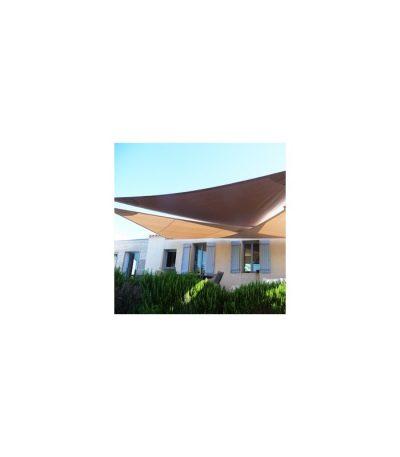 Trois voiles triangulaires et deux mâts 8000 x 4800mm
