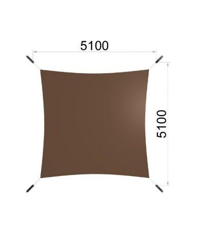 Une voile carrée et quatre mâts 5100-5100