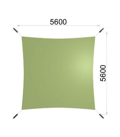 Une voile carrée avec quatre mât 5600-5600