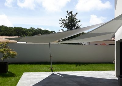 Voile d'ombrage pour terrasse
