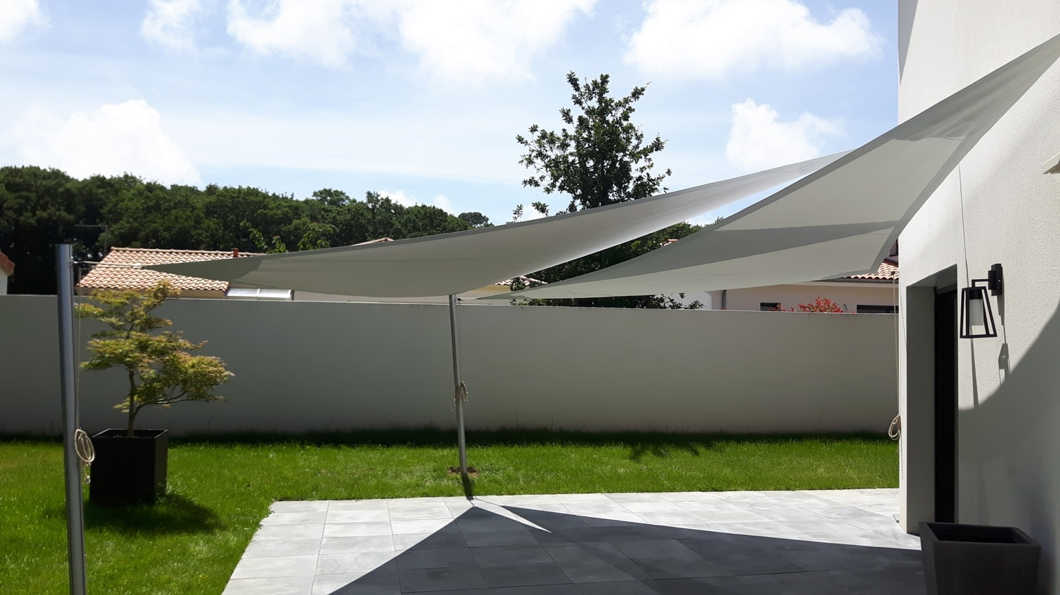 Voile D Ombrage Grand Vent voiles d'ombrage made in france | particuliers et professionnels